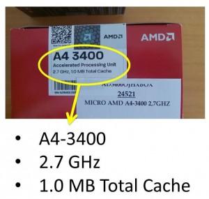 Etiqueta micro AMD