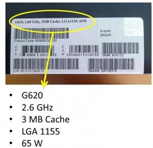 Etiqueta micro Intel