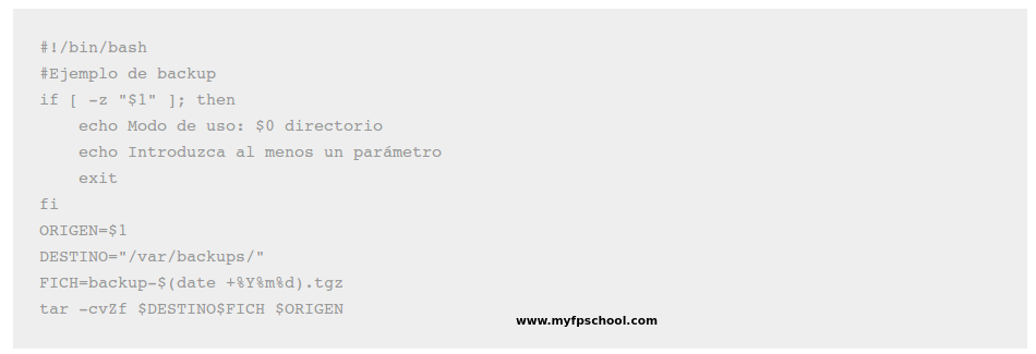 shell script ejemplo backup
