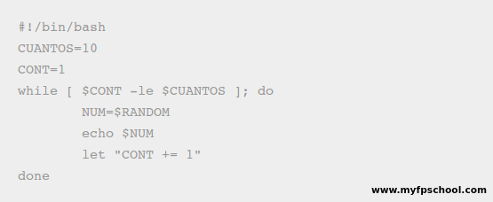 shell script ejemplo 6.2