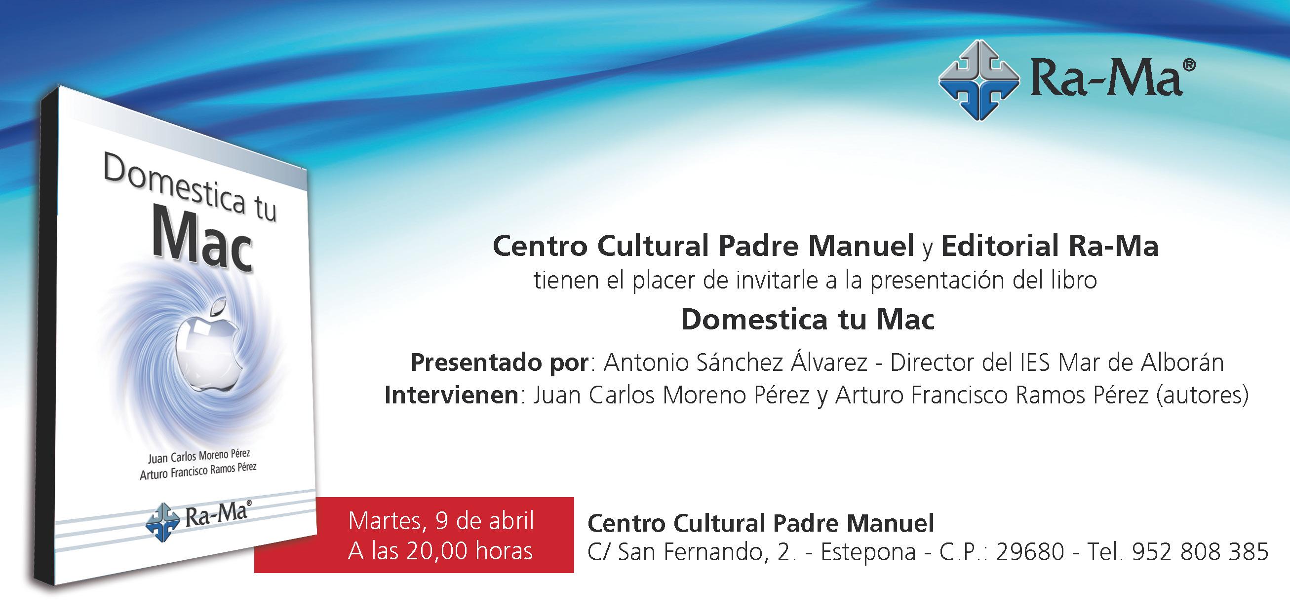 Invitación presentacion Domestica tu Mac