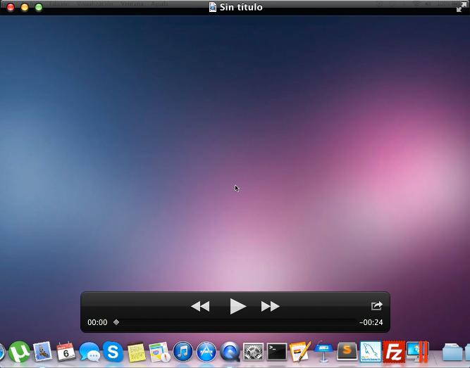 captura de pantalla en mac video
