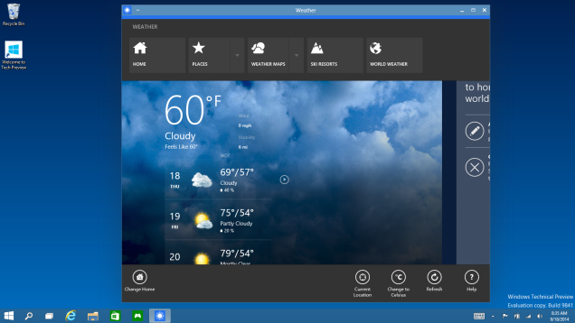 Apps de windows 10