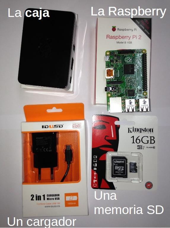 Raspberry kit