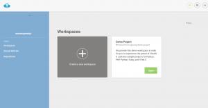 crear workspace
