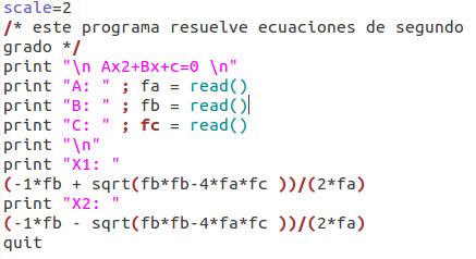 ecuaciones segundo grado