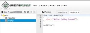 codinggroundjavascript