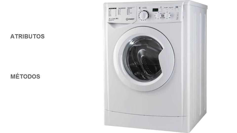 atributos y métodos de una lavadora