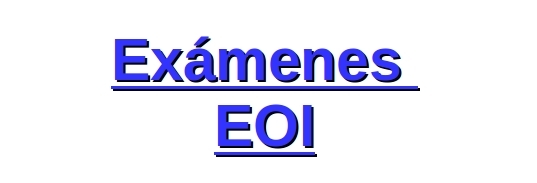 examenes EOI