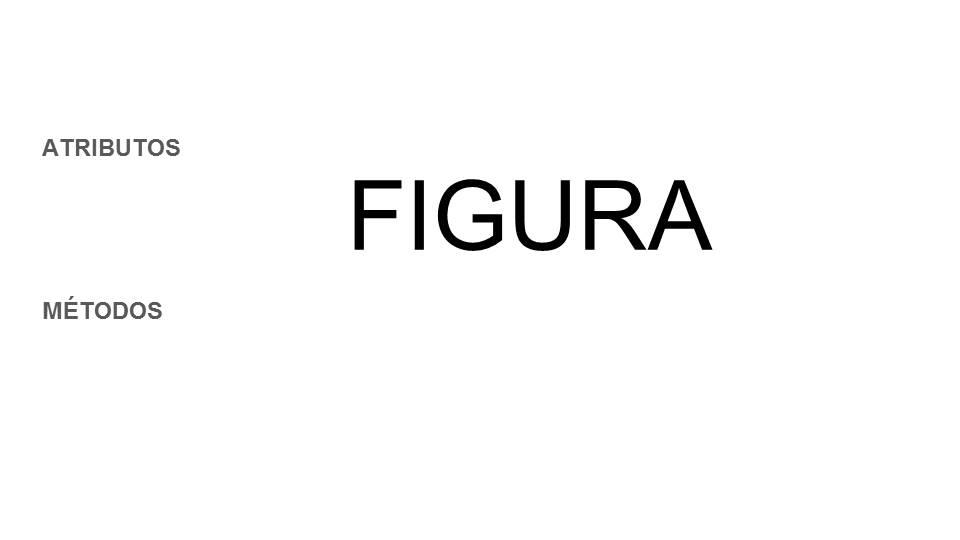 propiedades y métodos de una clase figura