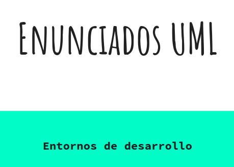 enunciados UML