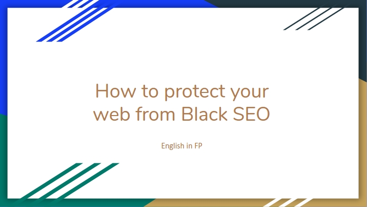 how to protect your web from the black seo