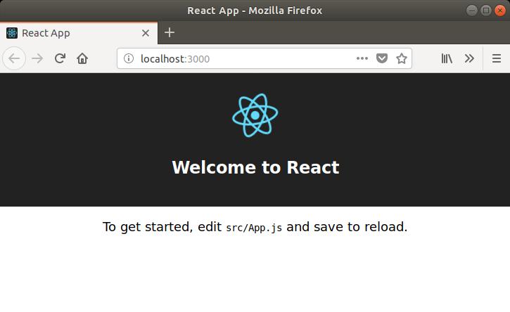 Ejemplo aplicación react