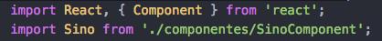 linea import componente App