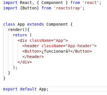 componente inicial App